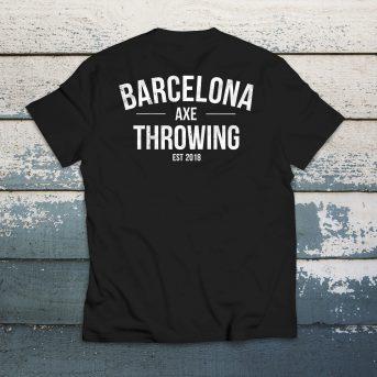 camiseta j. black barcelona axe throwing