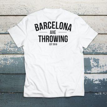 camiseta barcelona axe throwing J. blanca