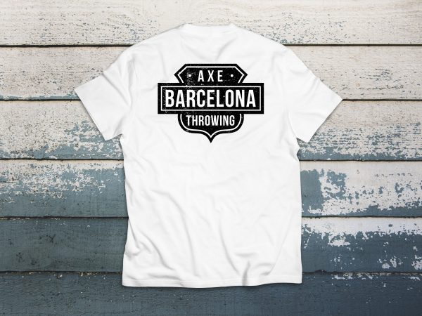 Camiseta Barcelona Axe throwing - Rich