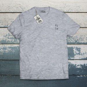 camiseta bat J gris